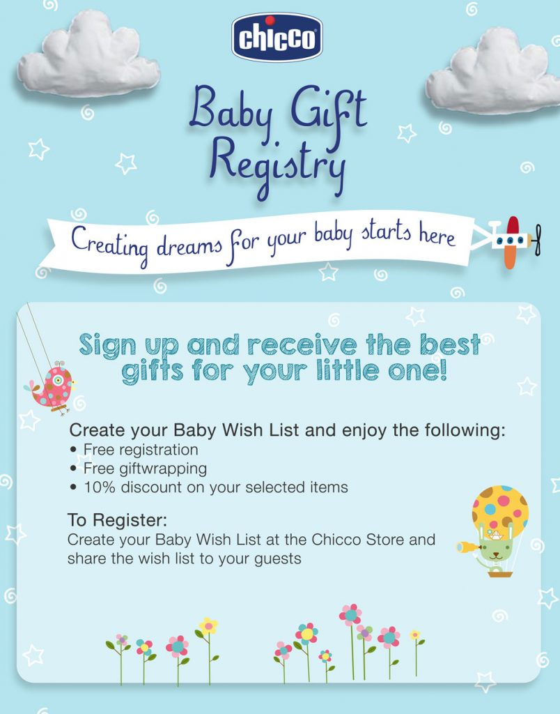 Baby Gift Registry Chicco
